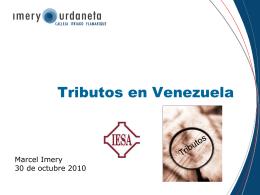 Tributos - Imery Urdaneta Calleja Itriago & Flamarique