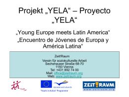 "Projekt ""YELA"""