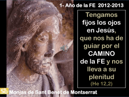 la fe en el jesús del evangelio de marc