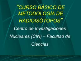 Núcleo atómico  - Centro de Investigaciones Nucleares