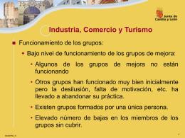 Industria, Comercio y Turismo