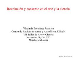 Revolución y consenso