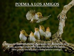 Borges (Poema a los amigos)
