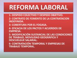 Reforma Laboral - Unión Regional de CC.OO. de La Rioja