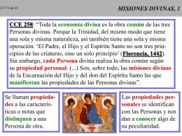 UNO Y TRINO 09 MISIONES DIVINAS