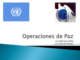 participación de uruguay en misiones de paz