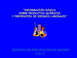 "CURSO: ""NIVEL BÁSICO EN PREVENCIÓN DE RIESGOS"