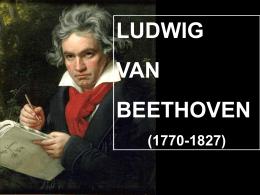 Vida y obra de Beethoven.