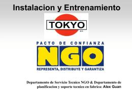 Directivas de Instalacion general de AA Tokyo