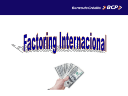 Factoring Internacional Expositor Jean Paul Coloma