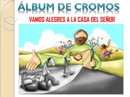 Actividades álbum Domingo V de Cuaresma