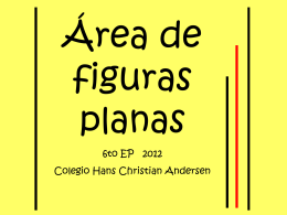 areadelasfigurasplanas - Hans Christian Andersen School