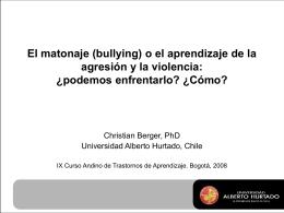 Presentación de PowerPoint - Universidad Alberto Hurtado