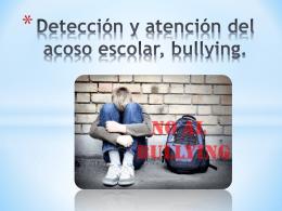 Taller detección y atención del bullying