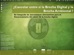 Mecanismos Financiación del cierre de la brecha digital
