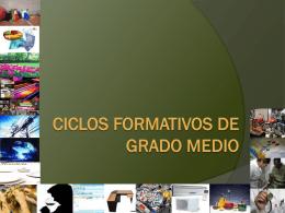 Ciclos Formativos de Grado Medio
