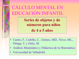 Geometría y Números - Universidad de Valladolid