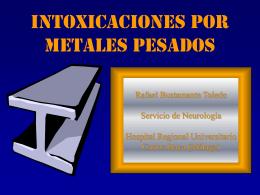 Intoxicaciones por Metales Pesados