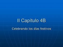 II Capítulo 4B