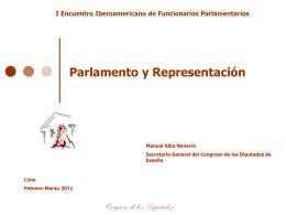 Parlamento y Representación