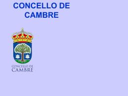 CAMBRE MUNICIPALITY - Deputación da Coruña