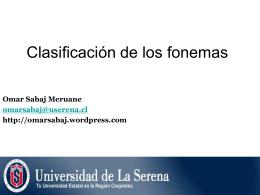 Fonética y Fonología del español