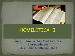 CURSO DE HOMILÉTICA Morelia Michoacán