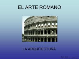 La arquitectura romana - Historia