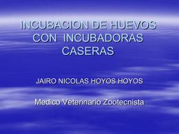 FABRICACION DE INCUBADORAS CASERAS