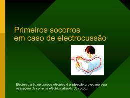 Primeiros socorros em caso de electrocussão