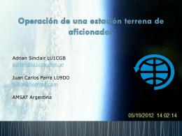 Presentación - AMSAT Argentina
