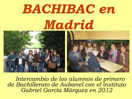 BACHIBAC en Madrid