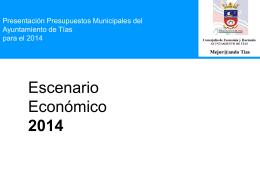 Escenario Económico 2014