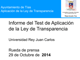 Diapositiva 1 - Ayuntamiento de Tías