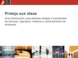 Proteja sus ideas - Oficina Española de Patentes y Marcas