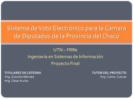 Presentacion del proyecto -FINAL -VIERNES - tps5to-utn-frre