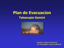 N° 04 Plan de Evacuacion