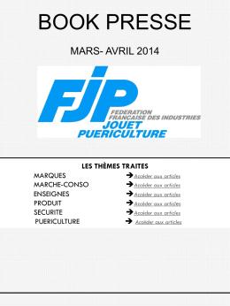 Revue de presse - Fédération Française des Industries Jouet