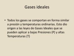 gases y termoquímica