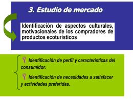Perfil del Consumidor: Variables Motivacionales