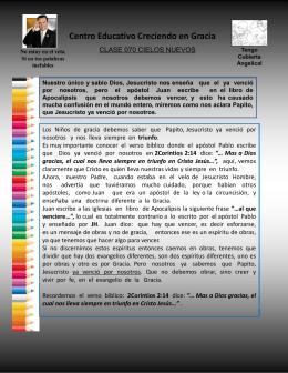 070 CIELOS NUEVOS