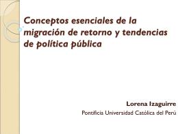 Conceptos esenciales de la migración de retorno y tendencias de