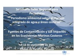 Cuáles son las principales fuentes contaminación terrestre?
