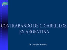 El contrabando en Argentina: Dr. Raúl Pitarque