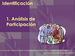 2. Analisis de participacion