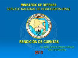 SERVICIO DE HIDROGRAFIA NAVAL