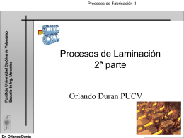 Apresentação do PowerPoint - Escuela de Ingeniería Mecánica