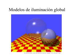 Modelos de iluminación global