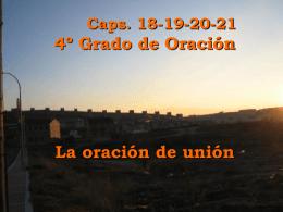 4º Grado: La Oración de unión - Centro de Iniciativas de Pastoral de