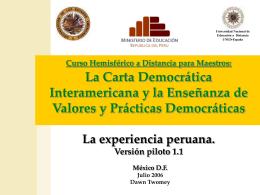 evaluación del plan de mejoramiento 2005 y de la verificación externa